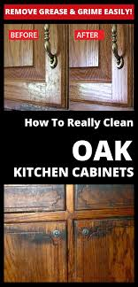 how to clean oak wood cabinets remove grease and grime easily how to really clean oak