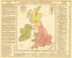 Map Of England And Ireland by Antique Map United Kingdom Ireland Gros Hjbmaps Com U2013 Hjbmaps