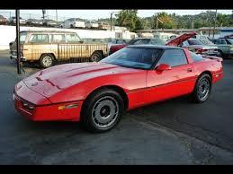 1984 corvette top speed 1984 chevrolet corvette 4 3 2 owner clean youngtimer c4 for