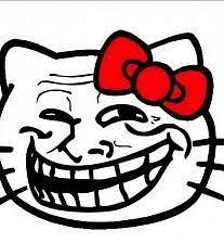 Hello Kitty Meme - hello kitty u dum fuk by thedarksorceress meme center