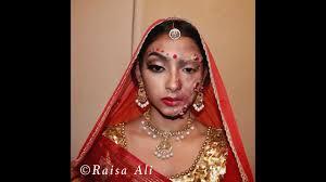 halloween zombie bride makeup halloween makeup bangladeshi indian zombie bride last minute
