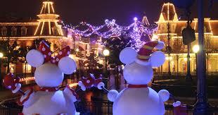 christmas dlp town square disneyland paris past present and
