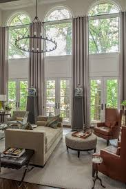 Large Window Curtain Ideas Designs Best 25 Tall Window Treatments Ideas On Pinterest Long Curtains