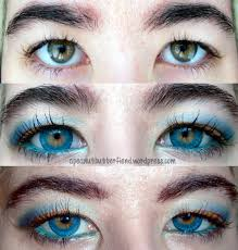 colored contacts halloween uniqso i codi colors of the wind no 24 blue sky circle lenses