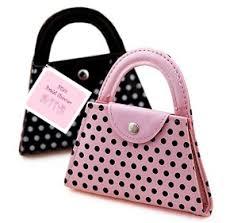 manicure set favors polka dot purse manicure set hansonellis