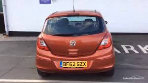 vauxhall orange vauxhall corsa se ecoflex s s orange 2012 youtube