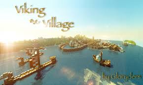 Viking Map Viking Village With Harbour Minecraft Project
