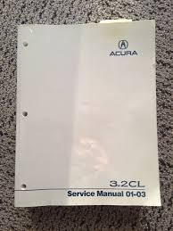 fs 2001 2003 3 2 cl service manual acurazine acura enthusiast