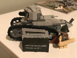 renault lego renault ft 17 kit i made today military lego is an awesome way to