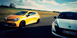 renault clio rally car drag race renault clio 4 rs vs clio 3 rs video biser3a