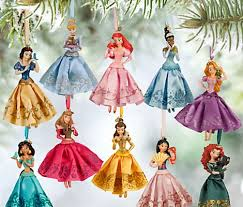 new disney princess ornament set from disney store inside the magic