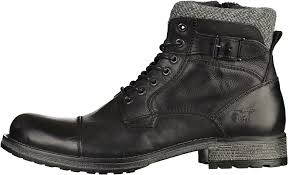 mens motorcycle boots sale mustang jeans cheap mustang men u0027s 4865 506 ankle boots schwarz