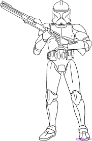 extremely creative star wars clone trooper coloring pages pictures