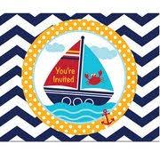 Nautical Theme Baby Shower Decorations - ahoy baby shower party decorations and supplies ezpartyzone