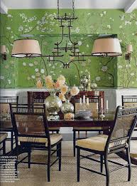 living livelier chinoiserie lighting in the dining room