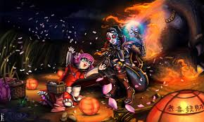 video game halloween background vayne full hd wallpaper and background 3600x2160 id 381866