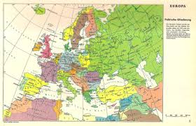 germany europe map german map of europe showing territories lost by germany after
