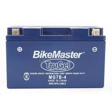 bikemaster trugel 12 volt battery mg7b 4 atv dirt bike
