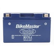 bikemaster trugel 12 volt battery mg7b 4 atv dirt bike
