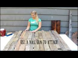 How To Make A Backdrop How To Make A Pallet Backdrop Youtube