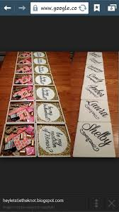 bridesmaids invitation boxes 125 best wedding party invitations images on party