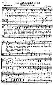 The Old Rugged Cross Hymn Gospel Hymns