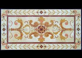 marble floor medallion designs rectangle marble insert