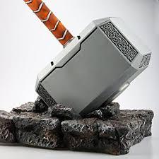 amazon com gmasking 2017 metal mjolnir thor solid adult hammer