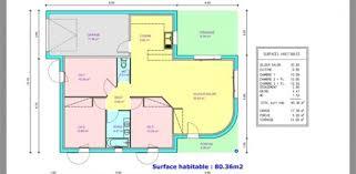 plan de maison de plain pied avec 3 chambres plan maison plain pied 100m2 3 chambres immobilier pour tous plein