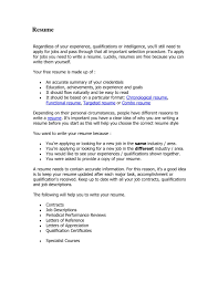 Resume Paragraph Format How To Write A Resume In Paragraph Form Professional Resumes