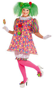 candy costumes women s plus size tickles the clown costume candy apple costumes