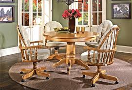 Dining Chair  Swivel Tilt Caster Dining Chairs Dining Room Table - Caster dining room chairs