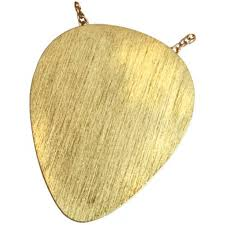 guitar necklace jewelry images Gold guitar pick cremation keepsake jewelry for ashes jpg