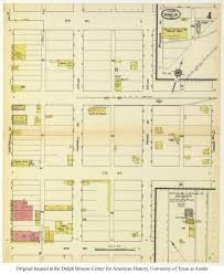 The 606 Map Sanborn Maps Of Texas Perry Castañeda Map Collection Ut