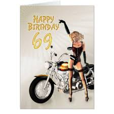 69th birthday card 69th birthday cards invitations greeting photo cards zazzle