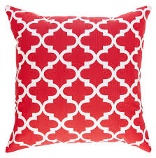 Throw Pillow Covers Online India Trellis Design Decorative Cushion Covers 2 Pack Red