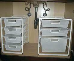 under kitchen sink storage ideas luxury under bathroom sink organizer or easy under the sink