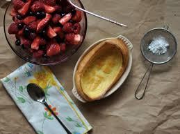 tri berry oven pancakes recipe ina garten food network