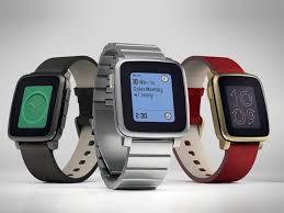 kickstarter pebble time u2022always on daylight readable screen