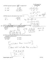 mr napoli u0027s algebra aim midterm review answer key regents