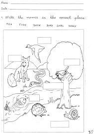 grade 1 worksheets for children learning exercise summmer