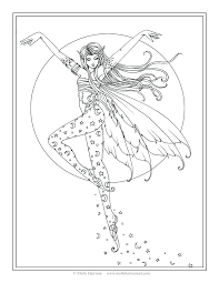 printable colouring pages fairy tales moon coloring tale free