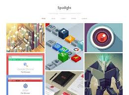 spotlight free portfolio wordpress theme freebiesbug