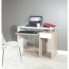 bureau 80 cm longueur droit bobby 99 blanc bim a co