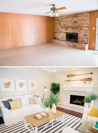 White Washed Stone Fireplace Life by Best 25 Stone Fireplace Makeover Ideas On Pinterest Fireplace