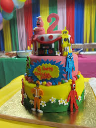 Yo Gabba Gabba Party Ideas by Yo Gabba Gabba Cake Party Ideas Pinterest Yo Gabba Gabba And