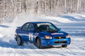 subaru gdf learning to drive a subaru wrx sti rally car in the snow