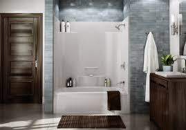 3 piece tub shower unit home living room ideas