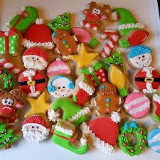 20 christmas mini sugar cookies