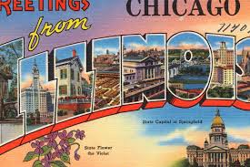 deco americaine vintage here now 51 vintage postcards from the windy city curbed chicago